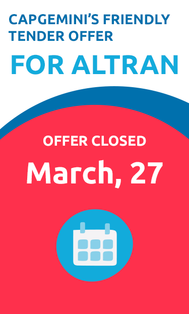 Public offer for the purchase of Altran shares by Capgemini - Final Reopining