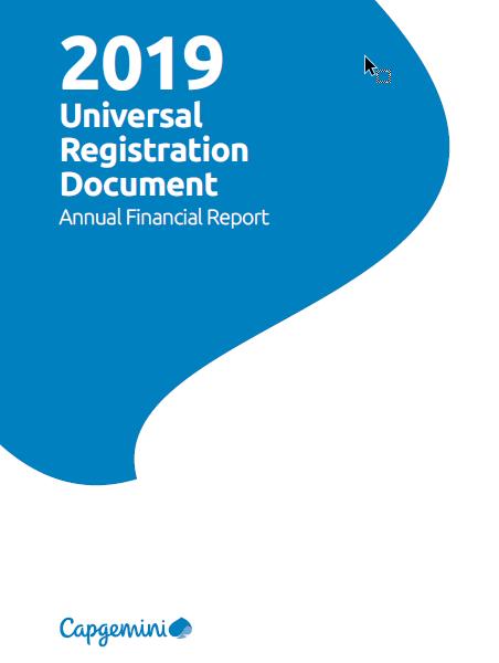 Document d'Enregistrement Universel 2019